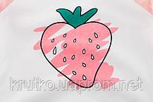 Лонгслів для дівчинки Полуничка 27 KIDS (90), фото 3