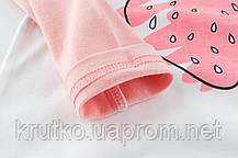 Лонгслів для дівчинки Полуничка 27 KIDS (90), фото 2