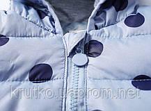 Куртка-пуховик дитяча Синій горошок Berni (90), фото 3