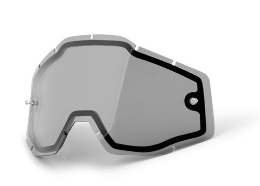 Линза двойная 100% RACECRAFT 2/ACCURI 2/STRATA 2 Enduro Dual Replacement Lens - Smoke