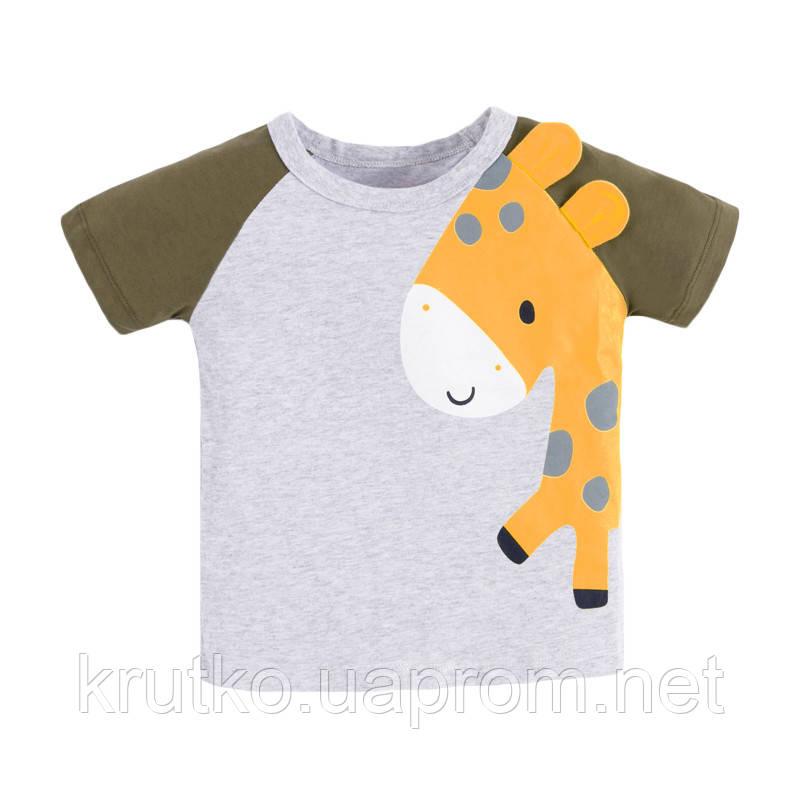 Футболка для хлопчика Маленький жираф Little Maven (2 роки)