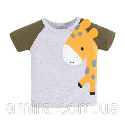 Футболка для хлопчика Маленький жираф Little Maven (2 роки), фото 2