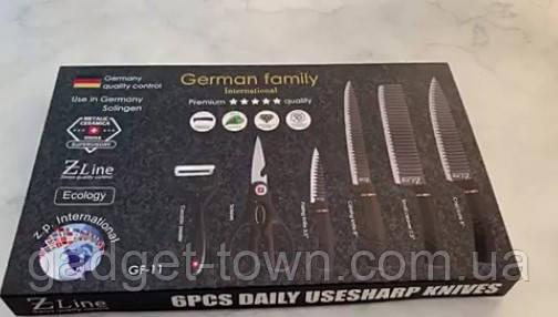 Набор ножей 6 предметов German Family GF-11