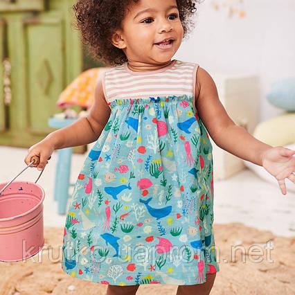 Сарафан для дівчинки Підводний світ Little Maven (2 роки), фото 2