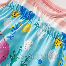 Сарафан для дівчинки Підводний світ Little Maven (2 роки), фото 3