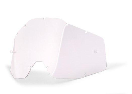 Линза прозрачная 100% RACECRAFT 2/ACCURI 2/STRATA 2 Replacement Lens Clear Anti-Fog