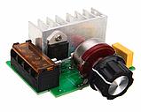 Симисторный регулятор мощности 220В 4кВт с предохранителем, фото 2