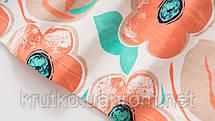 Плаття для дівчинки Помаранчеві квіти Little Maven (2 роки), фото 2