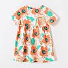 Плаття для дівчинки Помаранчеві квіти Little Maven (2 роки), фото 3