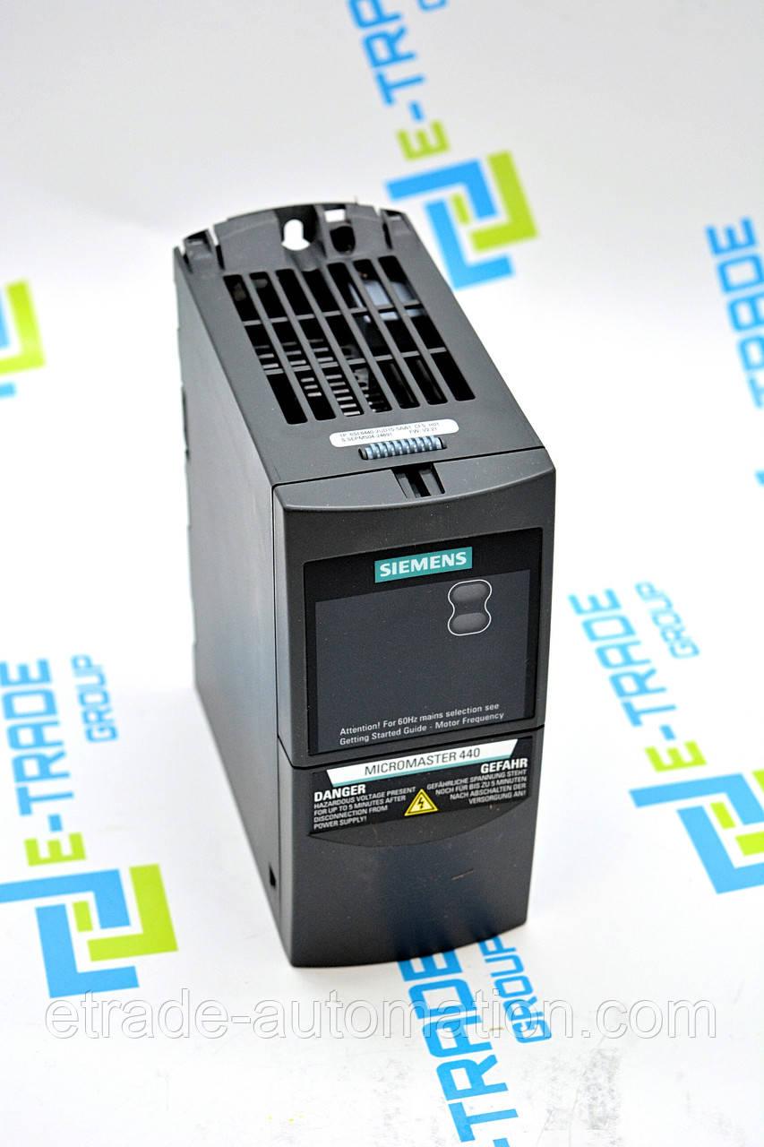 Преобразователь частоты Siemens 6SE6440-2UD15-5AA1