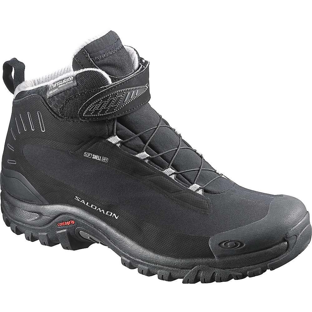 Ботинки зимние Salomon SHOES DEEMAX 3 TS WP black/black/ALU (MD)