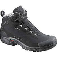 Ботинки зимние Salomon SHOES DEEMAX 3 TS WP black/black/ALU (MD), фото 1