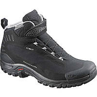 Зимние ботинки Salomon SHOES DEEMAX 3 TS WP BLACK/BLACK/ALU (MD)