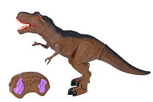 Динозавр Same Toy коричневий зі світлом і звуком (Тиранозавр)
