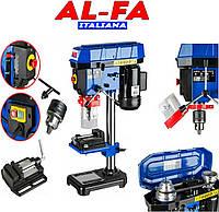 NEW 2020 Сверлильный станок AL-FA ALDP16 1600 Вт АЛЮМИНИЕВЫЙ ШКИВ КНОПКА СТАРТ-СТОП POLAND-Гарантия 1 год