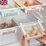 Органайзер в холодильник refrigerator shelf, фото 5