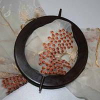 Декор кольцо-держатель шоколад