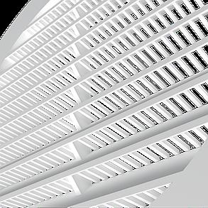 Решетка приточно-вытяжная Эра ABS с фланцем 100 х 130 мм (60-114), фото 2