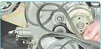 Замена ремней привода вспомогательных агрегатов на двигателях ЗМЗ-40524