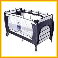 Манеж Кровать Для маленьких детей 5466 V8С Для мальчиков и Девочек