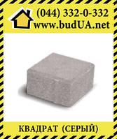 "Тротуарная плитка ""Квадрат"" 200*200*60мм (Серый)"