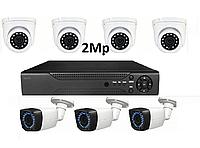 AHD комплект видеонаблюдения на 7 камер 2Mp, фото 1