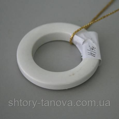 Люверсы пластиковые для штор круглые пластик белый 36мм