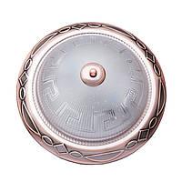 Светильник для ванной Sunlight ST597 потолочный A 38 GL, КОД: 1371030