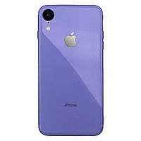 Чехол накладка xCase на iPhone XR Glass Silicone Case Logo glycine