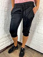 Бриджи женские спортивные черные AiD M, фото 1