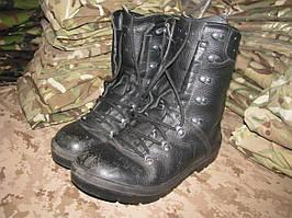 Ботинки EU 39 военные BW 2005 оригинал ВС Германии Bundeswehr Б/У - Black - Лот 45