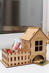 Чайные домики, шкатулки, деревянный декор