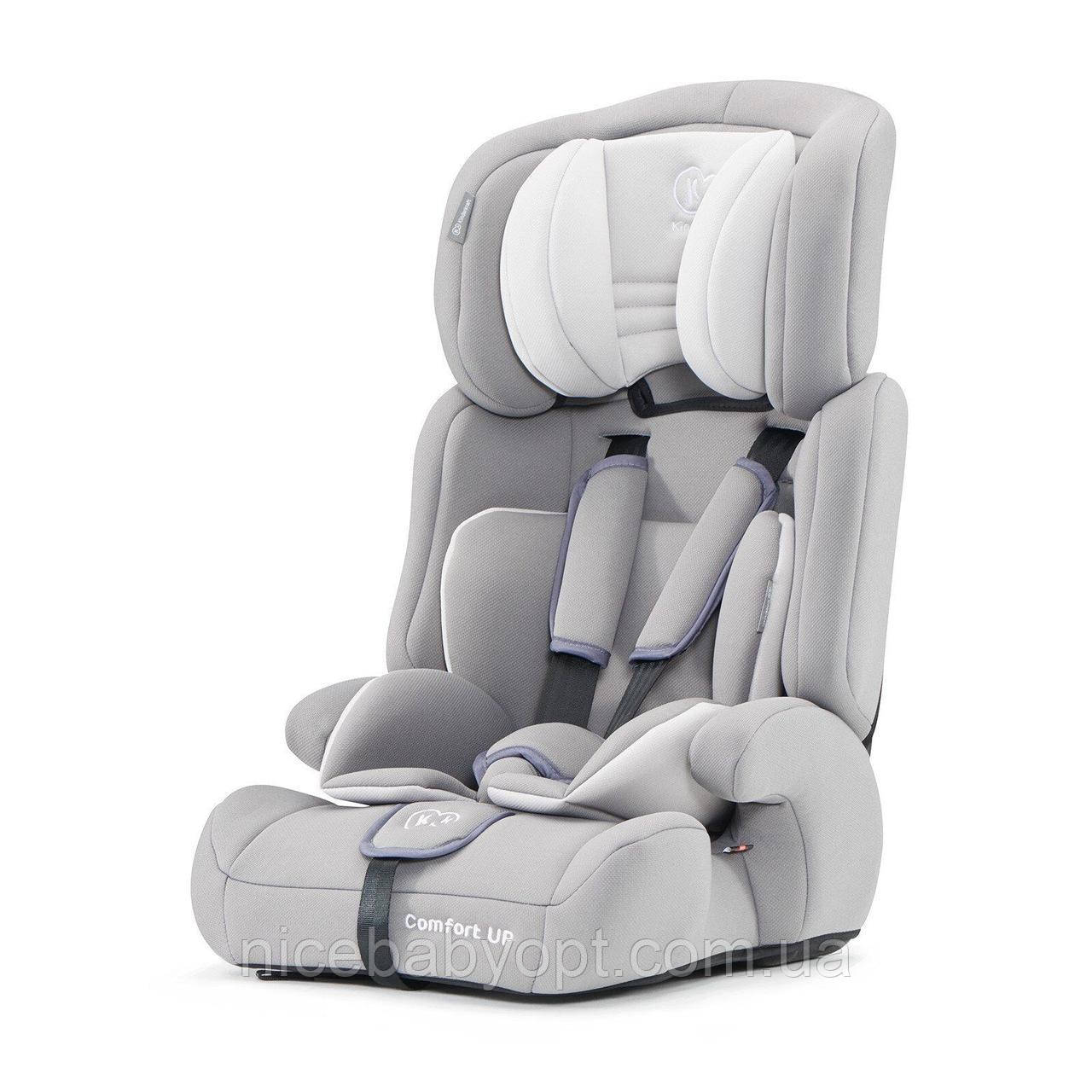 Автокрісло Kinderkraft Comfort Up Grey 9-36 кг (група 1-2-3)