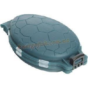 Коробка Energoteam для крючков черепашка 12 отсеков HS-04