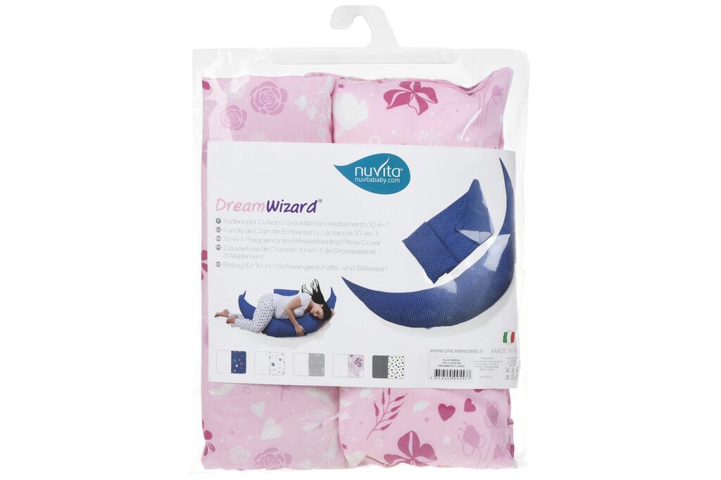 Набір аксесуарів Nuvita для подушки DreamWizard (наволочка, міні-подушка)