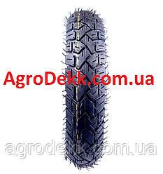 Резина на скутер 3.50-10 с камерой 6 PR шипованная
