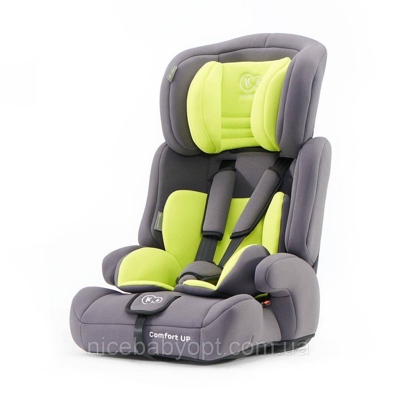 Автокрісло Kinderkraft Comfort Up Lime 9-36 кг (група 1-2-3)