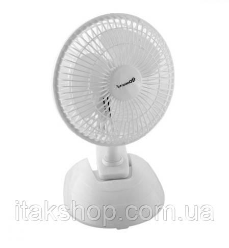Вентилятор настільний Domotec MS-1623 15Вт (Білий)