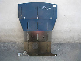 Защита двигателя Кольчуга BMW 7-й серії  Е 32 (1986-1994) V-3,0; (двигатель,радиатор)