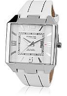 Часы Q&Q DB06J304Y оригинал классические наручные часы на кожаном ремешке