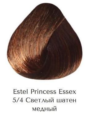 Estel Princess Essex 5/4 світлий шатен мідний