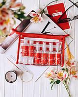 Косметичка для путешествий My travel pack с емкостями для косметики оригинальный подарок прикольный