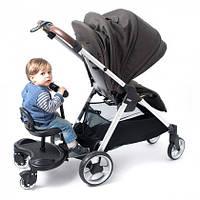Сидение (подножка) для второго ребёнка CARRELLO Kiddy Board CRL-7007 | Підніжка універсальна для другої дитини