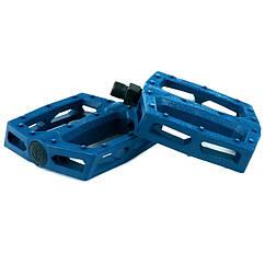 "Педалі Federal Command BMX  пластик, 9/16"", темно-сині"