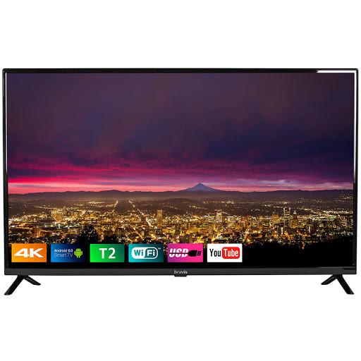 "Телевизор 43"" Bravis UHD-43G6000 3840x2160, SmartTV, гарантия 1 год"
