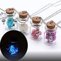 Мініатюрні скляні баночки і їх застосування