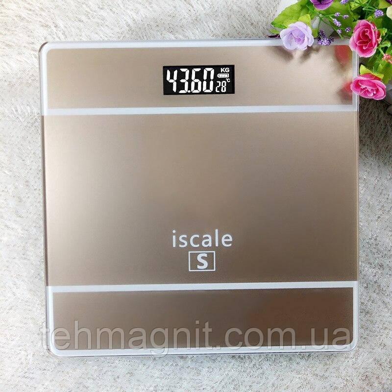 Ваги підлогові електронні Iscale S до 1804 кг з датчиком температури