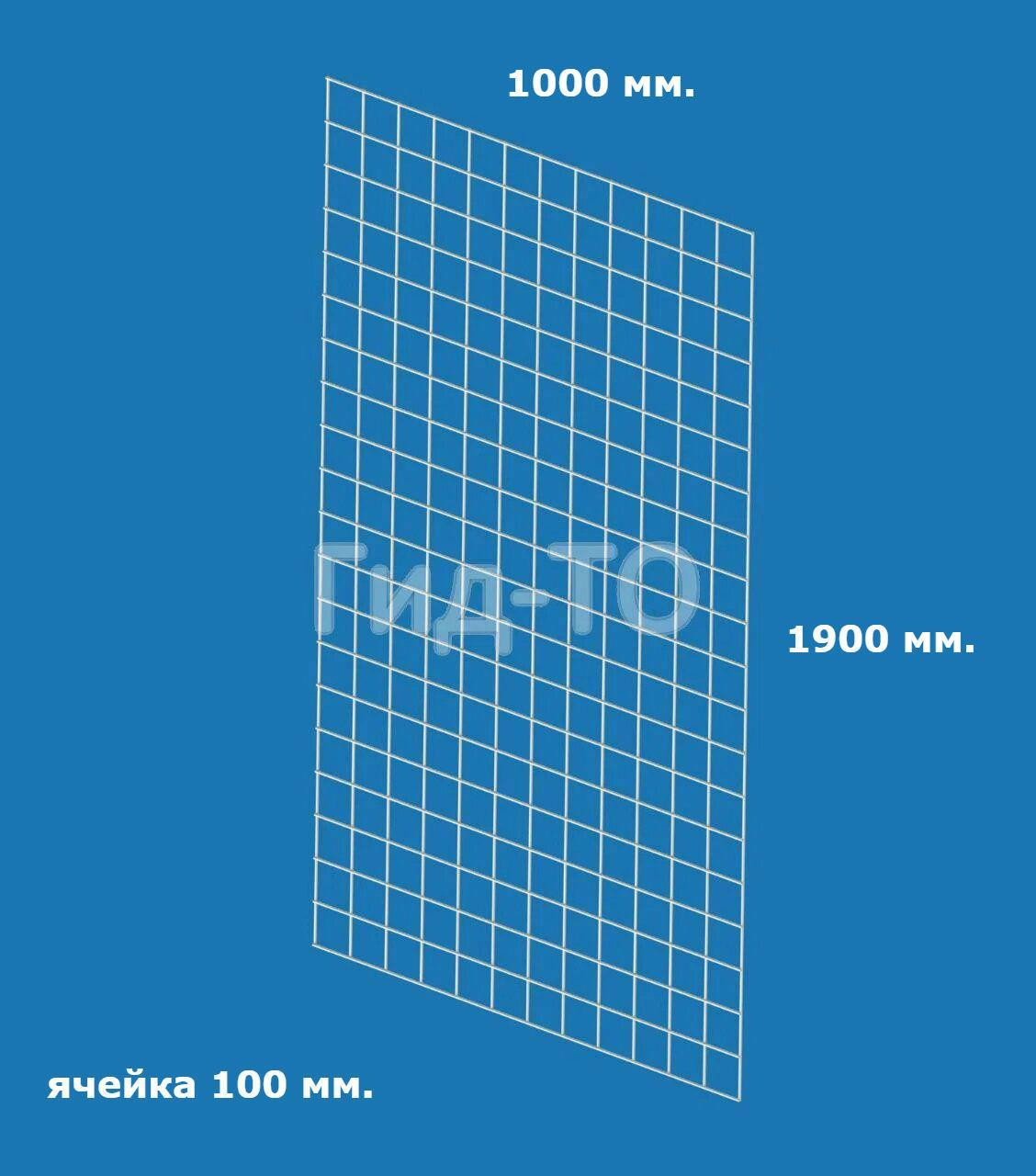 Сетка торговая (1900х1000) ячейка 100 мм.