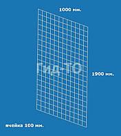 Сетка торговая (1900х1000) ячейка 100 мм., фото 1