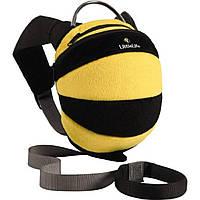 Детский рюкзак, с капюшоном. Пчела.